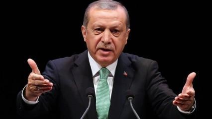Başkan Erdoğan: Lanetliyorum!