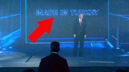 Yerli otomobil tanıtımında dikkat çeken an! Erdoğan görür görmez değiştirilmesini istedi