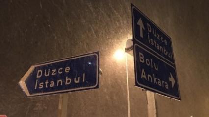 Kar yağdı öğrenciler Vali'yi mesaj yağmuruna tuttu