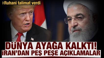 Dünya ayağa kalktı! İran'dan peş peşe açıklamalar! Çarpıcı talimat