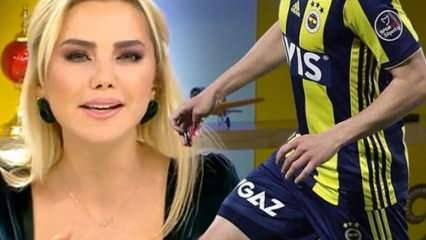 Sunucu Ece Erken, Fenerbahçeli futbolcuyu ifşa etti!