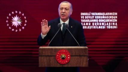 Erdoğan'dan çok sert sözler: Namussuz alçak...