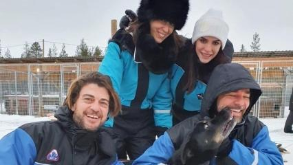 Neslihan Alkoçlar ve eşi Engin Altan Düzyatan'dan tatil paylaşımı!