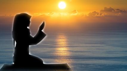 Sabah okunacak en faziletli dua! Sabah namazı saat kaça kadar kılınır? Sabah namazı kılınışı