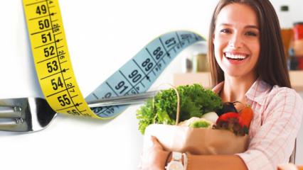 1 haftada kaç kilo verilir? Sağlıklı kilo verdiren 1 haftalık kolay diyet listesi