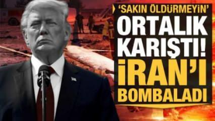 Trump'tan İran'a son dakika bombası: Sakın öldürmeyin!