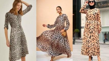 Leopar desen kıyafetler nasıl kombinlenir?