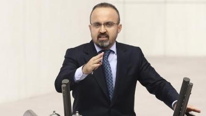 Bülent Turan'dan Yunanistan'a tepki: O bayrağa uzanan eller kırılır