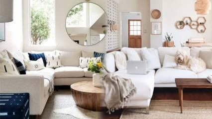Natürel tonlu ev dekorasyonu önerileri