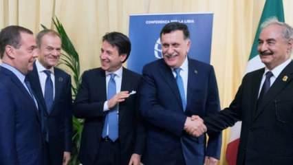 Rusya'dan Libya açıklaması! Serrac ve Hafter aynı odada olmak bile istemiyor