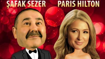 Şafak Sezer ve Paris Hilton buluşması açığa kavuştu!
