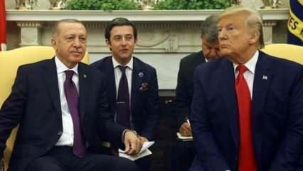 Erdoğan ile Trump arasında kritik görüşme!