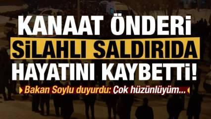 Kanaat önderi Seyda Abdülkerim Çevik silahlı saldırıda öldürüldü!