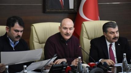 Bakan Kurum açıkladı: Acil yıkılması gereken 12 bina var