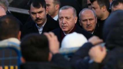 Cumhurbaşkanı Erdoğan Elazığ ve Malatya'da inceleme yaptı