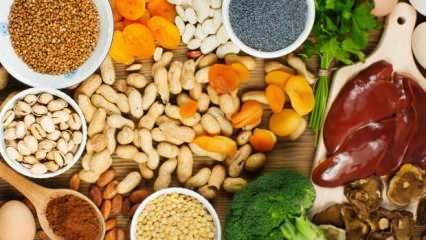 Demir eksikliği belirtileri nelerdir? Hamilelikte demir eksikliğine iyi gelen gıdalar...