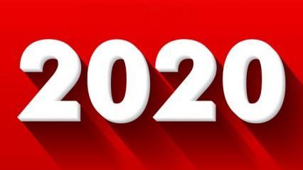 2020 Resmi tatil günleri: Çalışanlar ve öğrenciler bu yıl kaç gün tatil yapacak?