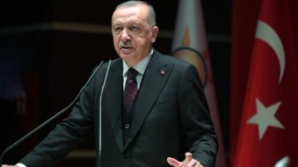 Cumhurbaşkanı Erdoğan'dan sert Filistin tepkisi