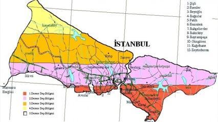 2020 İstanbul depreminde en fazla hangi ilçeler etkilenecek? Korkutan rapor...