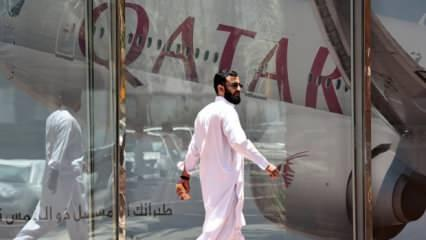 Katar Havayolları Çin uçuşlarını askıya aldı
