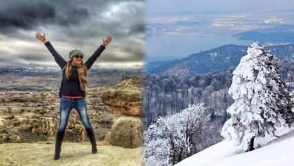 Kışın Türkiye'de mutlaka gidilmesi gereken yerler nerelerdir?