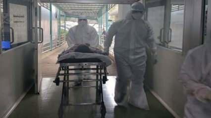 Koronavirüs karantina merkezinde esrarengiz ölüm
