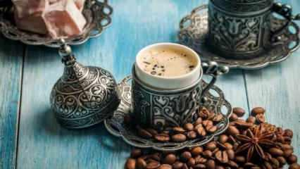 Bol köpüklü Türk kahvesi yapımı: Günde 2 fincan Türk kahvesi içmenin faydaları