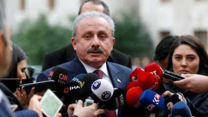 TBMM Başkanı Şentop'tan Yunan vekile müthiş cevap