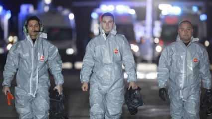 Vuhan'dan Türkleri getirecek olan 'Koca Yusuf' Ankara'ya indi