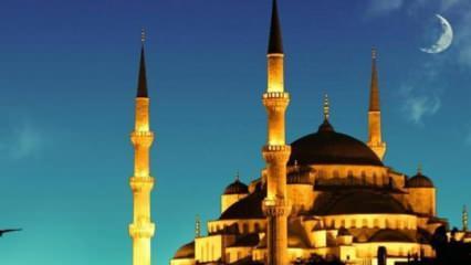 2020 Ramazan ayı ne zaman? Ramazan bayramı tatili hangi gün başlıyor?