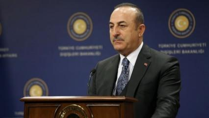 Bakan Çavuşoğlu'ndan son dakika açıklama: Esed'e tepki, Rusya'ya çağrı