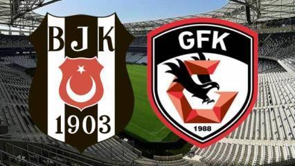 Beşiktaş Gaziantep FK maçı saat kaçta? Kadrolar belli oldu mu, hangi kanaldan yayınlanacak?