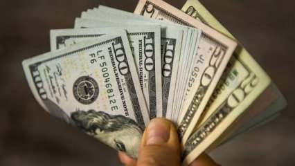 Dolar dar bantta sıkıştı