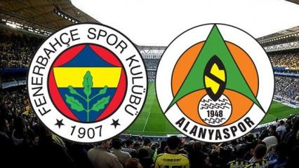 Fenerbahçe Alanyaspor maçı ne zaman saat kaçta? Muhtemel 11'ler belli oldu!