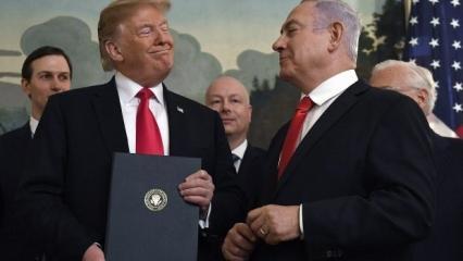 """ABD'den sözde Orta Doğu barış planı """"değişikliklere açık'' mesajı"""