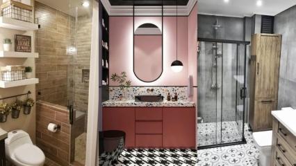 Modern banyo dekorasyonu nasıl yapılır?
