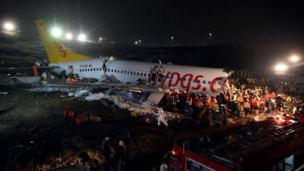 Pistten çıkan uçak ile ilgili flaş açıklama: İki büyük hata var...