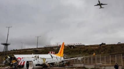 Sabiha Gökçen'deki uçak kazası ile ilgili yeni gelişme!
