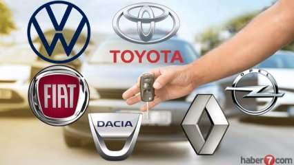 2020 model Sıfır araç fiyatları! Dacia, Volkswagen, Fiat, Renault, ne kadar?