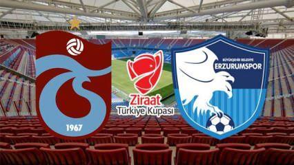 Türkiye Kupası Trabzonspor, Erzurumspor maçı ne zaman saat kaçta hangi kanalda?