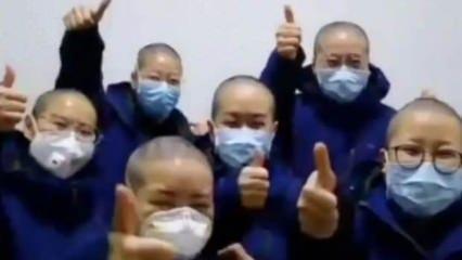 Koronavirüs doktor ve hemşireleri vurdu: Saçlarını kazıtıp altlarına bez bağlıyorlar
