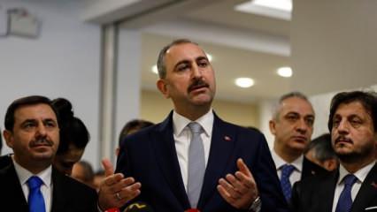 Adalet Bakanı Gül'den Kadir Şeker açıklaması