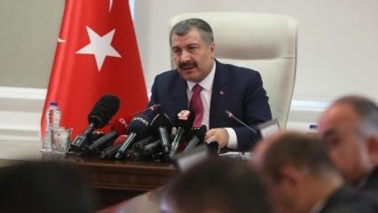 Bakan Koca'dan koronavirüs açıklaması! Türkiye'de kullanılmaya başlandı