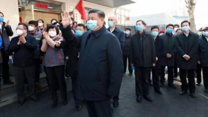 Çin Devlet Başkanı Şi Chimping, maske takıp sokağa indi