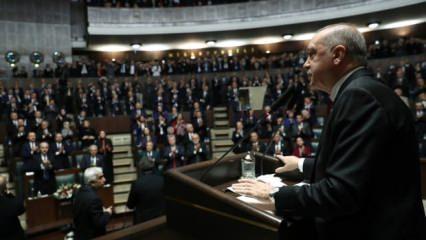 Cumhurbaşkanı Erdoğan, FETÖ-CHP ortaklığını ortaya koyan görüntüleri izletti!
