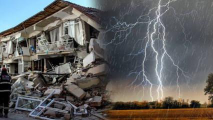 Doğal afetler, fırtına ve depremden korunmak için okunacak güçlü faziletli dualar!
