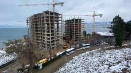 Erdoğan'ın sorduğu binanın yıkımı sürüyor