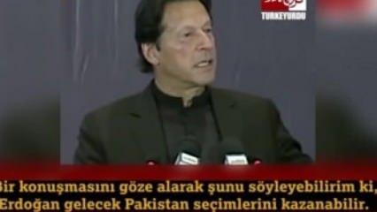 Pakistan Başbakanı: Erdoğan Pakistan'da seçime girse kazanır