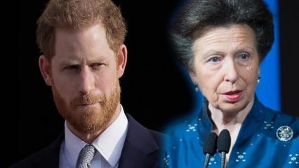 Prens Harry'nin yerini halası Prenses Anne aldı!
