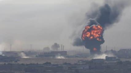 Savaş uçakları İdlib'i vurdu! Çok sayıda ölü ve yaralı var